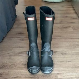Black Hunter Rain Boots